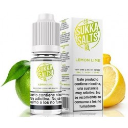 Lemon Lime by Sukka Salt E Liquid 20mg