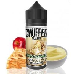 Apple Crumble and Custard by Chuffed Dessert - 0mg 120ml Shortfill Vape E-Liquid