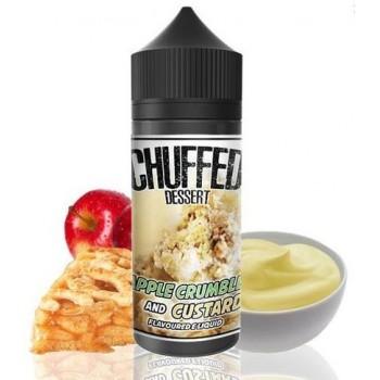 Apple Crumble and Custard by Chuffed Dessert - 0mg 100ml Shortfill Vape E-Liquid