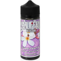 Sweet Peach & Italian White Grape by Chuffed Blossom - 0mg 120ml Shortfill Vape E-Liquid
