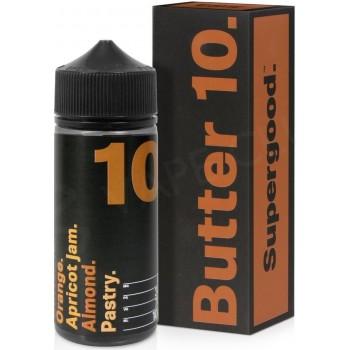 Butter 10 by Supergood E-Liquid | 100ml Short Fill Ireland