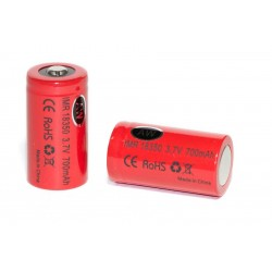 Red AW IMR 18350 700mAh Batteries